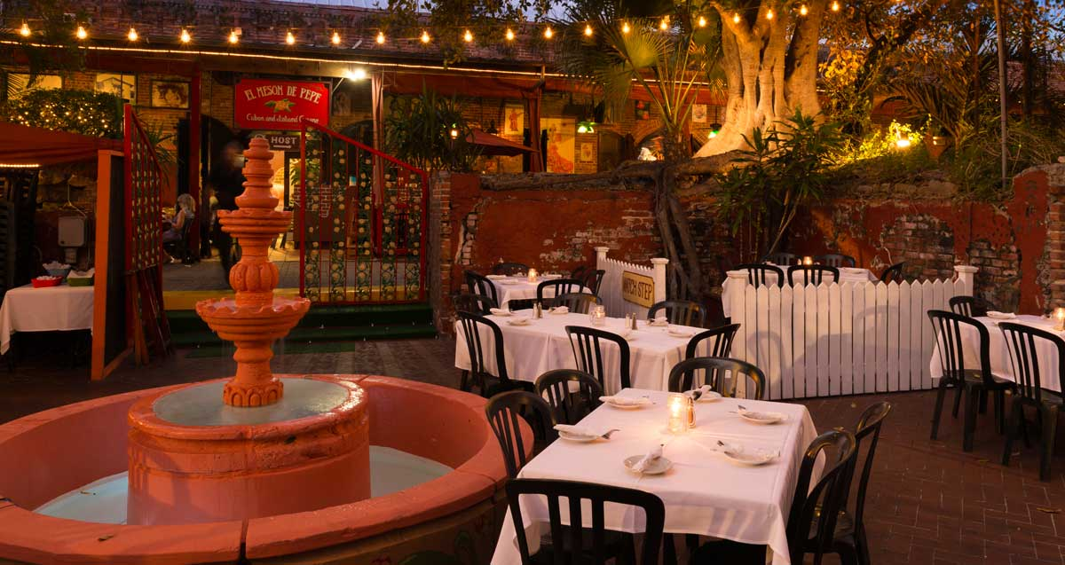 Private Party Setup at El Meson de Pepe