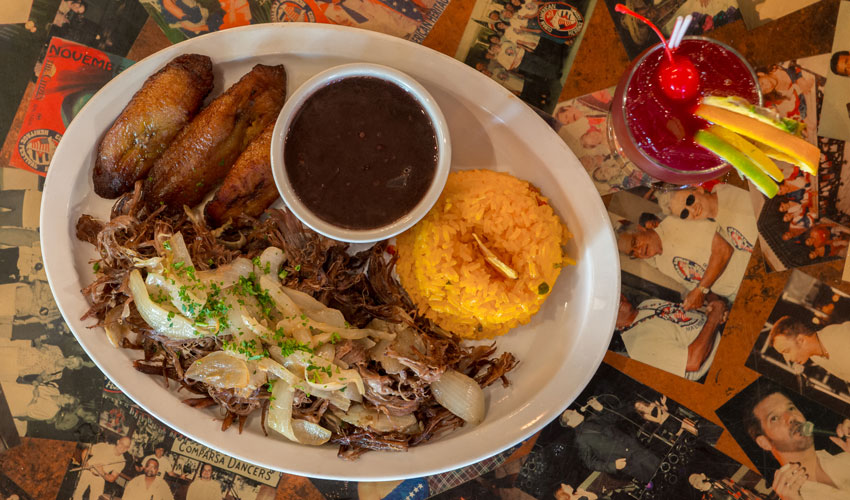 El Meson Rice Beans and Plantains