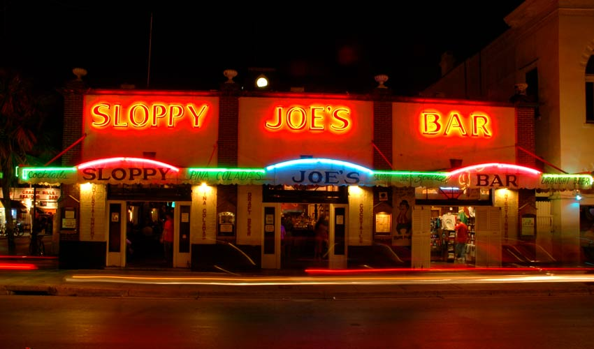 Sloppy Joe's Bar in Key West